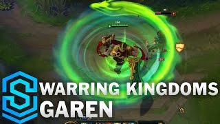 Warring Kingdoms Garen Skin Spotlight - Pre-Release - League of Legends