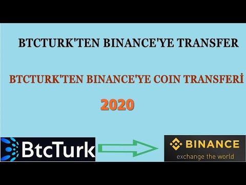 Btcturk Ten Binance Ye Transfer 2020 Yılı   Btcturk Ten Binance Ye Para Transferi