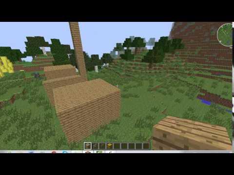 Comment faire un box pour chevaux dans minecraft youtube - Comment faire un chalet dans minecraft ...