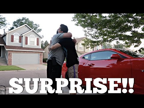I BOUGHT MY DAD HIS DREAM CAR! (2017 CAMARO SS) *EMOTIONAL* (VLOG)