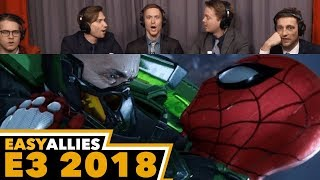 Spider-Man - Easy Allies Reactions - E3 2018