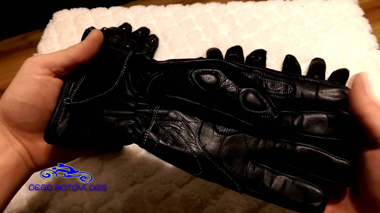 Diavolo leather motorcycle gloves - Sedici Motorcycle Gloves Review