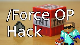 Force OP - Minecraft 1.8.x - 1.9 How to Hack a Minecraft Server - ITXtutor