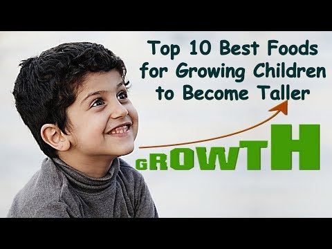 Top 10 Best Foods for Growing Children |10 Superfoods to Become Taller | Healthy Foods for Kids