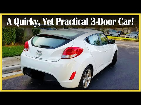 2015 Hyundai Veloster Review | 3-Doors & Spoty Looks | Drive