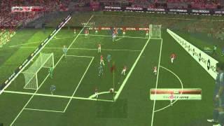 PES2014 REAL MADRID VS ARSENAL gameplay ONLINE