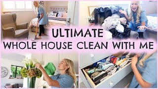 ULTIMATE WHOLE HOUSE CLEAN WITH ME 2019  |  COMPLETE DISASTER CLEANING MOTIVATION  |  SPEED CLEAN