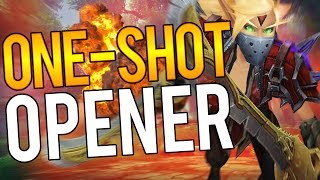 ONE-SHOT OPENERS - Outlaw Rogue PvP WoW Legion 7.1.5