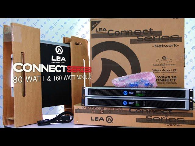 80 Watt & 160 Watt Connect Series Amplifiers - Overview