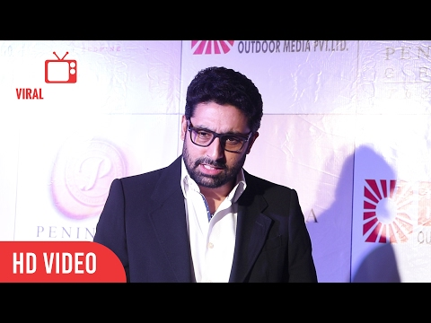 Abhishek Bachchan At 3rd Bright Awards 2017 | Viralbollywood