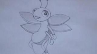 How to draw cartoon - Firefly