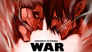 War Trailer in Anime Style!!! Humanity VS Titans