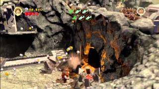 Lego Lord Of The Rings: Level 7/taming Gollum - Free Play - All Collectables - Htg
