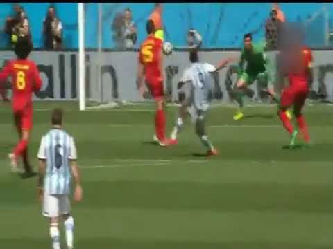 Argentina vs Belgium Full Match Highlights WORLD CUP 2014