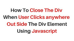 Click anywhere outisde bootstrap sidebar to close it - Free