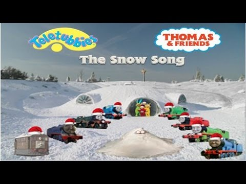Thomas & Friends - The Snow Song (Teletubbies Version)