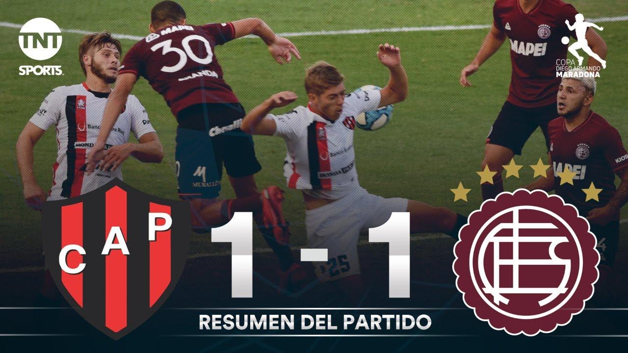 Resumen de Patronato vs Lanús (1-1) | Fecha 4 Grupo A - Fase Complementación Copa Maradona