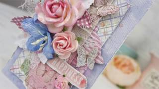 Romantic Shabby Chic  Tag -  Cardmaking Tutorial by Karolina Czołba