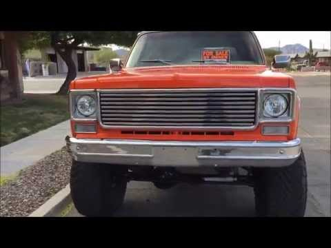 1975 Gmc Jimmy Blazer For Sale 15000 Fi 454 Restored