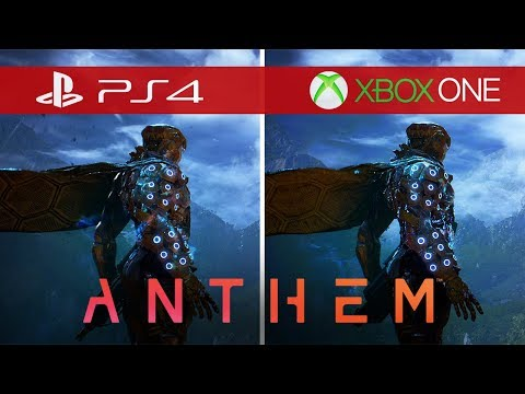 Anthem Comparison - Xbox One vs. Xbox One S vs. Xbox One X vs. PS4 vs. PS4 Pro