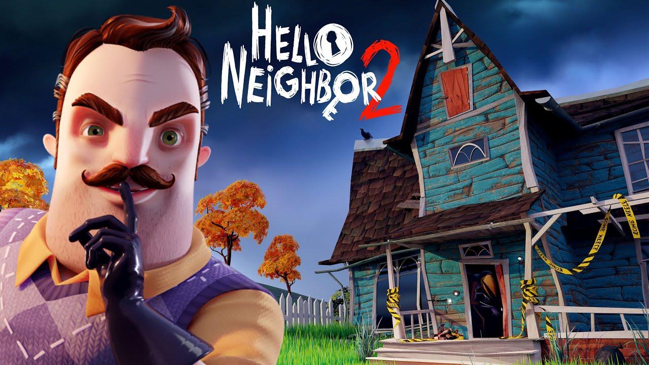 HELLO NEIGHBOR 2 ALPHA GAMEPLAY ! - YouTube