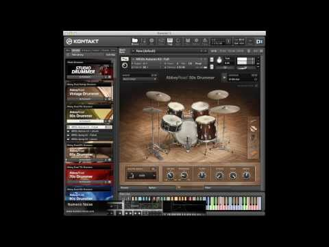 Native Instruments 50s Drummer Library