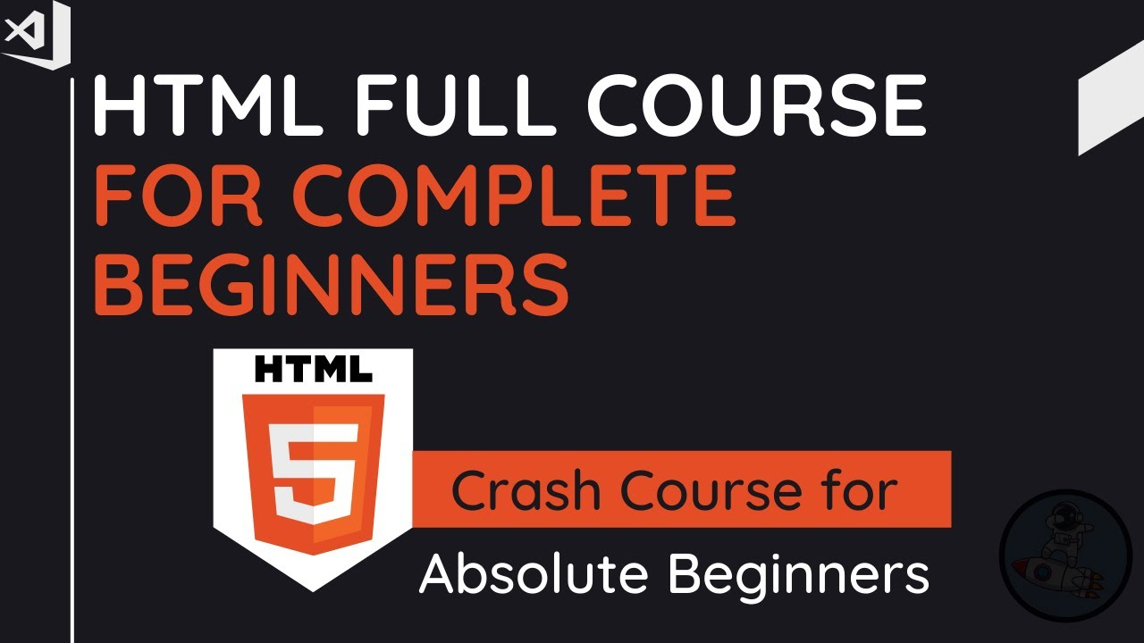 HTML For Beginner Tutorial | Complete Crash Course For Absolute Beginners 2021