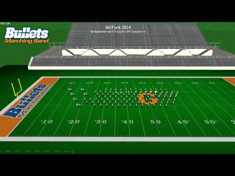 Mo'Funk 2014 Skycam Drill Animation - ALL