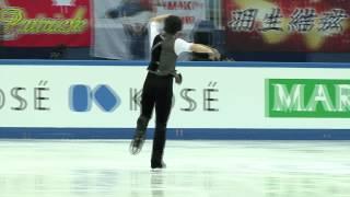 2 Keiji TANAKA (JPN) - ISU Grand Prix Final 2012 Junior Men Free Sk...