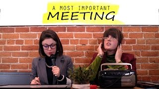 A MOST IMPORTANT MEETING