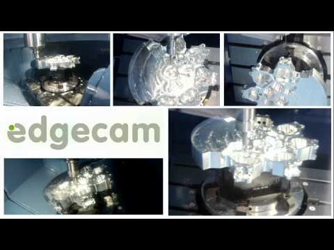 Edgecam on the Matsuura MX-520