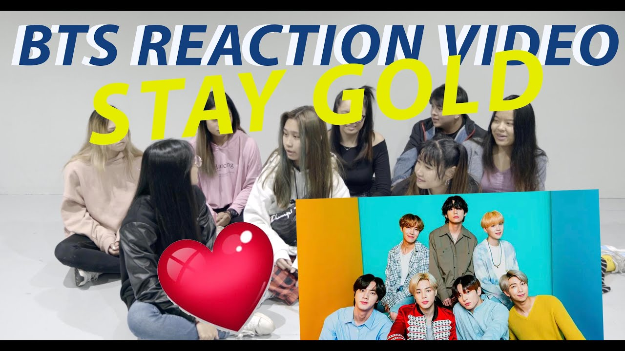 [DIVERSITY] BTS - STAY GOLD Reaction Video | Many UWU Moments