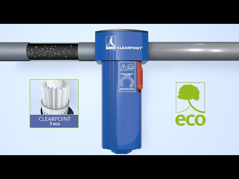 CLEARPOINT 3eco Compressed Air Filtration