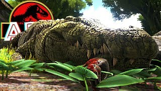 Download Video ARK Dino Evolved - Jogando Com Deinosuchus, Crocodilo Gigantesco! | (#15) (PT-BR) MP3 3GP MP4