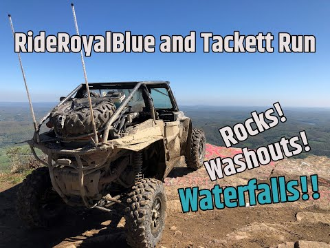 Ride Royal Blue And Tackett Creek 2day Solo Run!! Waterfall Tour!!