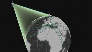 Galileo-Satelliten finden Positionen auf der Erde