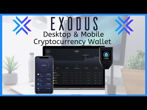 Exodus Desktop & Mobile Wallet Tutorial 2020