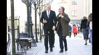 Gitanas Nausėda skelbia savo sprendimą dėl kandidatavimo į Lietuvos prezidentus
