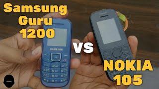 Samsung Guru 1200 vs Nokia 105 Hindi Review Which one to buy Tech Talk