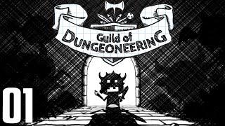 "GUILD OF DUNGEONEERING Gameplay Part 1 - ""BATS & RATS!!!"""
