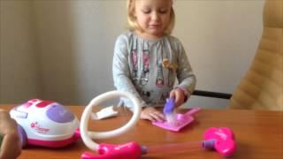 МАША  Новая серия Детский пылесос и набор для уборки. Toy vacuum cleaner and cleaning kit.
