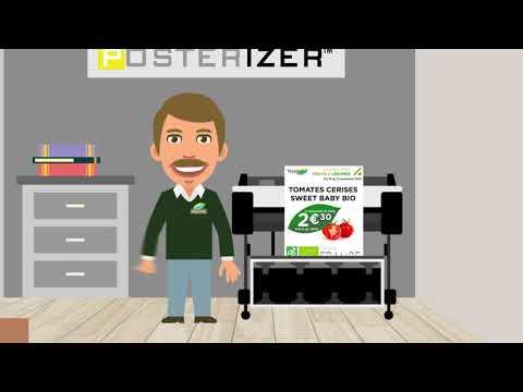 Solution et logiciel Canon Posterizer pour les magasins.