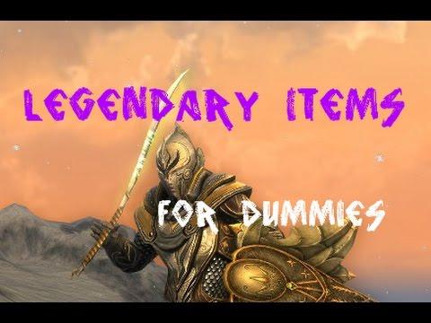 Legendary Items: FULL GUIDE (2016 LotRO) - HD