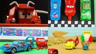 Disney Pixar Cars 1 Iconic Scene Remake! Stop Motion Animation Tomica & Mattel Cars Toys Video