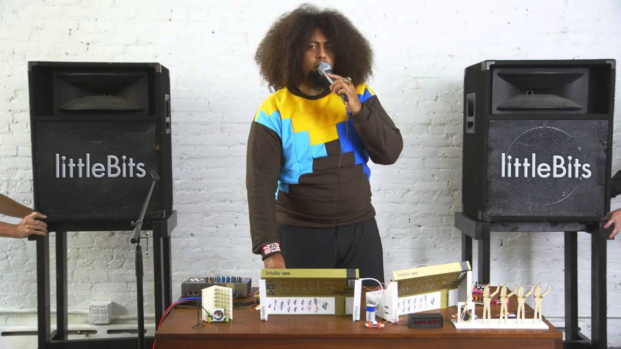littlebits synth kit in collaboration with korg youtube. Black Bedroom Furniture Sets. Home Design Ideas