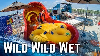 All Big Waterslides at Wild Wild Wet Singapore! (GoPro POV)