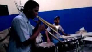 Solo trombone   Love story