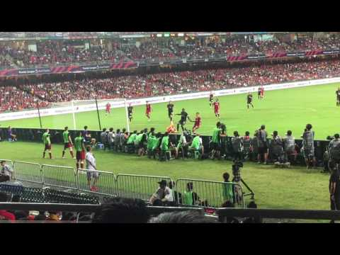 [2nd half] Premier League Asia trophy 2017 (Final) Liverpool vs Leicester City @Hong Kong Stadium