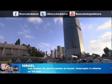 Suenan sirenas de alerta en Israel, intercepta 2 cohetes en Tel Aviv