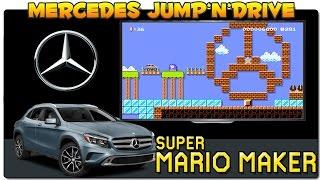 SUPER MARIO MAKER | NIVELES OFICIALES: Mercedes Benz Jump 'n' Drive Amg | GAMEPLAY ESPAÑOL | WII U